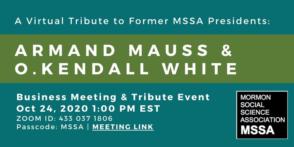 MSSA Logo Mauss, White Tribute